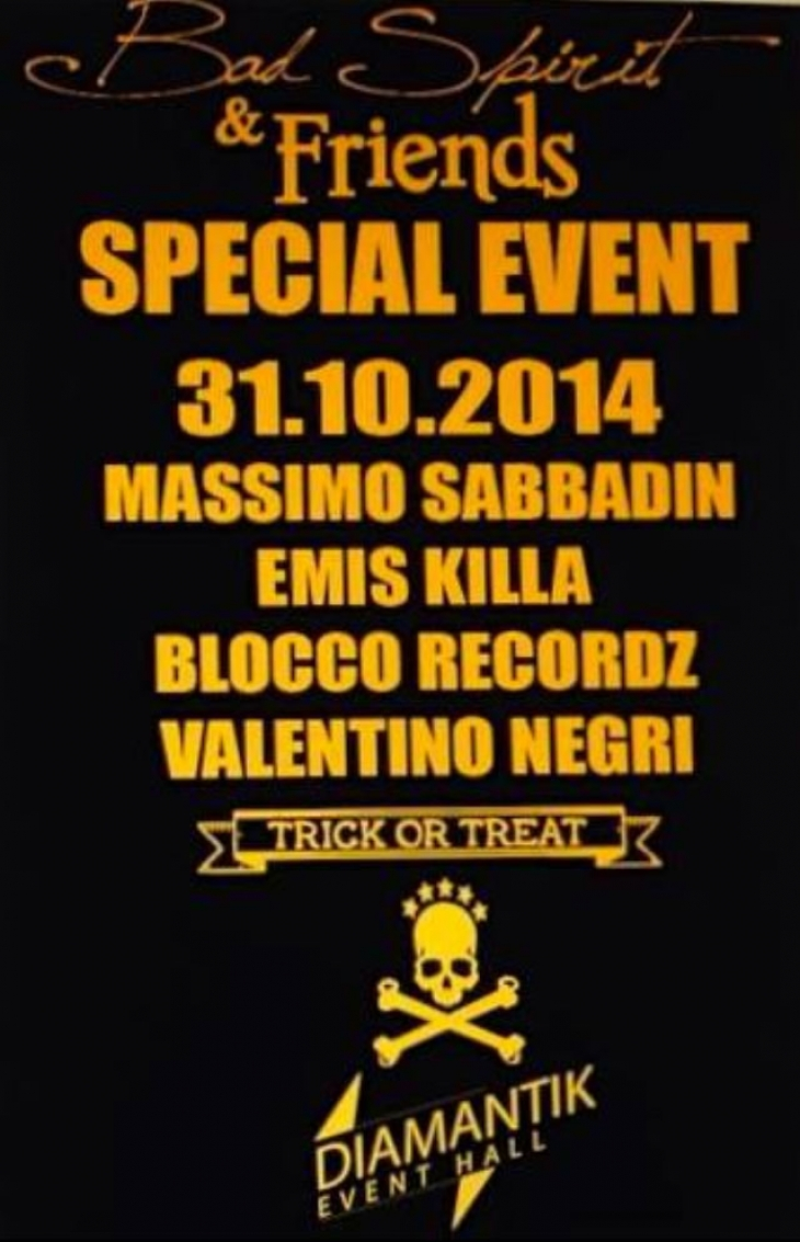 Bad Spirit & Friends - Emis Killa DJ set